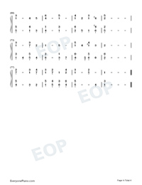Abide with me-Eventide-Numbered-Musical-Notation-Preview-4