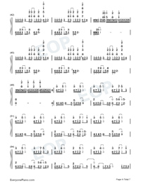 What To Sing-Perfect Version Numbered Musical Notation Preview 4