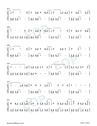 A Scholar-Jiang Chao Numbered Musical Notation Preview 2