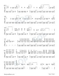 A Scholar-Jiang Chao Numbered Musical Notation Preview 3