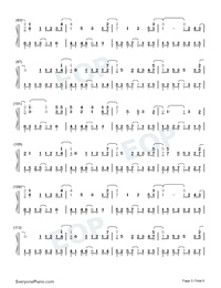A Scholar-Jiang Chao Numbered Musical Notation Preview 5