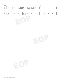 Empty Space-James Arthur-Numbered-Musical-Notation-Preview-3