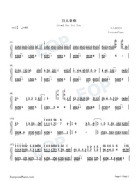 Crowd Are Not You-Numbered-Musical-Notation-Preview-1