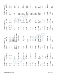 The Internationale-L Internationale-Numbered-Musical-Notation-Preview-2