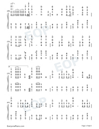 The Internationale-L Internationale-Numbered-Musical-Notation-Preview-3