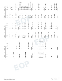 The Internationale-L Internationale-Numbered-Musical-Notation-Preview-5