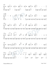 Several of You-The Queen of SOP OST-Numbered-Musical-Notation-Preview-2