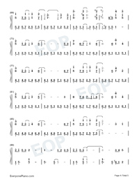 Several of You-The Queen of SOP OST-Numbered-Musical-Notation-Preview-4