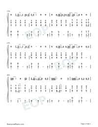 Falling-Wang Feng-Numbered-Musical-Notation-Preview-2