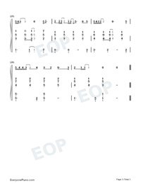 Falling-Wang Feng-Numbered-Musical-Notation-Preview-3