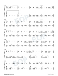 Doin Time-Lana Del Rey-Numbered-Musical-Notation-Preview-2