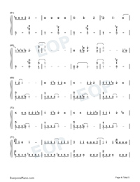 Doin Time-Lana Del Rey-Numbered-Musical-Notation-Preview-4