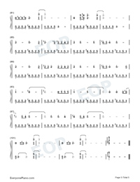Doin Time-Lana Del Rey-Numbered-Musical-Notation-Preview-5