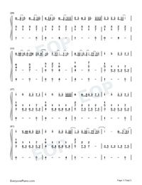 What Am I-Why Dont We-Numbered-Musical-Notation-Preview-3