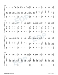What Am I-Why Dont We-Numbered-Musical-Notation-Preview-4