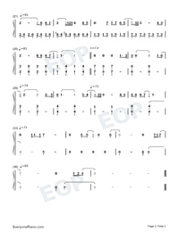 All Is Found-Frozen 2-Numbered-Musical-Notation-Preview-2