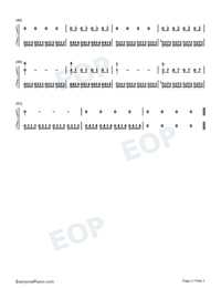 The Twins-Max Richter-Numbered-Musical-Notation-Preview-3