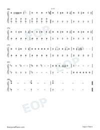 Into the Unknown-Frozen 2 OST-Numbered-Musical-Notation-Preview-4