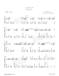 Hanakotoba-Oresuki ED-Numbered-Musical-Notation-Preview-1