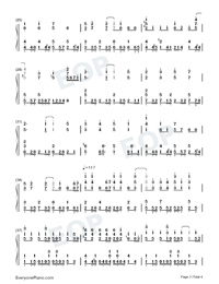 Hanakotoba-Oresuki ED-Numbered-Musical-Notation-Preview-3