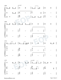 Can You See My Heart-Hotel del Luna OST-Numbered-Musical-Notation-Preview-9