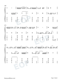 Love You Well-Sodagreen-Numbered-Musical-Notation-Preview-2