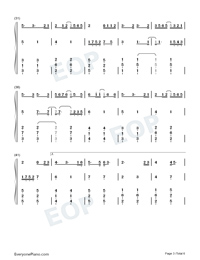 Love You Well-Sodagreen-Numbered-Musical-Notation-Preview-3