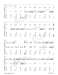 Love You Well-Sodagreen-Numbered-Musical-Notation-Preview-4