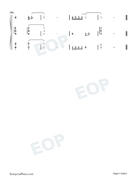 Love You Well-Sodagreen-Numbered-Musical-Notation-Preview-6