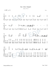 Use This Gospel-Kanye West-Numbered-Musical-Notation-Preview-1