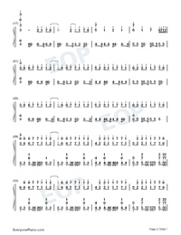 Time Back-Bad Style-Numbered-Musical-Notation-Preview-2