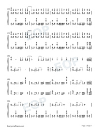 Time Back-Bad Style-Numbered-Musical-Notation-Preview-3