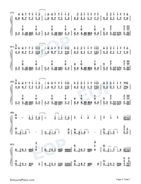 Time Back-Bad Style-Numbered-Musical-Notation-Preview-5
