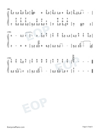 Slow To Cool Down-Fish Leong Numbered Musical Notation Preview 6