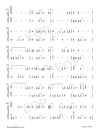 A Small Token of My Feelings-Numbered-Musical-Notation-Preview-2