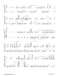 A Small Token of My Feelings-Numbered-Musical-Notation-Preview-3