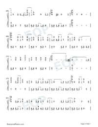 A Small Token of My Feelings-Numbered-Musical-Notation-Preview-4