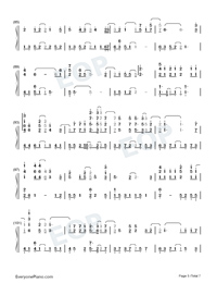 A Small Token of My Feelings-Numbered-Musical-Notation-Preview-5