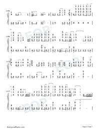 A Small Token of My Feelings-Numbered-Musical-Notation-Preview-6