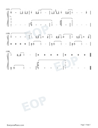A Small Token of My Feelings-Numbered-Musical-Notation-Preview-7