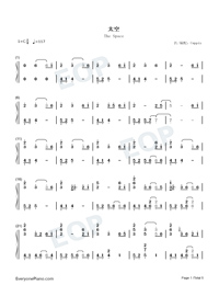 The Space-Wu Tsing-fong-Numbered-Musical-Notation-Preview-1