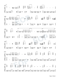 Annies Wonderland-Perfect Version-Numbered-Musical-Notation-Preview-2