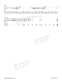 Painting-Zhao Lei-Numbered-Musical-Notation-Preview-4