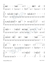 Beautiful Pain-Ada Zhuang-Numbered-Musical-Notation-Preview-2