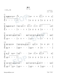 The Sun-Hebe Tien-Numbered-Musical-Notation-Preview-1