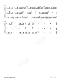 Listen to Me-Numbered-Musical-Notation-Preview-2