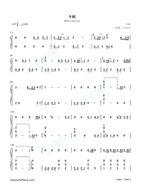 Hibernation-Numbered-Musical-Notation-Preview-1