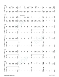 Conversations in the Dark-John Legend-Numbered-Musical-Notation-Preview-2