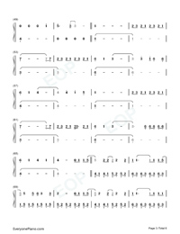 Conversations in the Dark-John Legend-Numbered-Musical-Notation-Preview-3