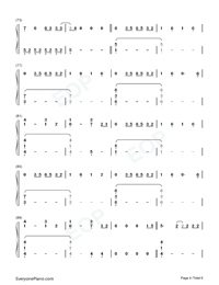 Conversations in the Dark-John Legend-Numbered-Musical-Notation-Preview-4